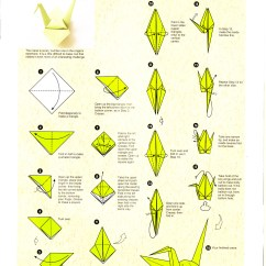 Origami Paper Crane Diagram 1993 Ford Ranger Wiring A4 Instructions Tutorial Handmade