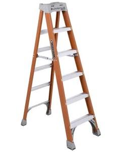 6 feet Fiberglass Platform Ladder