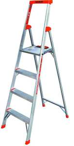Delxo 3 Step Ladder Folding Step Stool