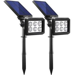 Urpower solar spotlight - best solar spot light for garden