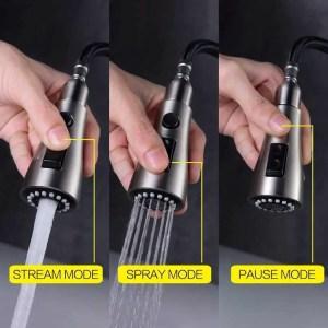 best pull down spray kitchen faucet
