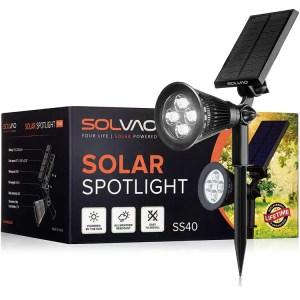 9. SOLVAO Solar Spotlight - Outdoor LED Spot Light