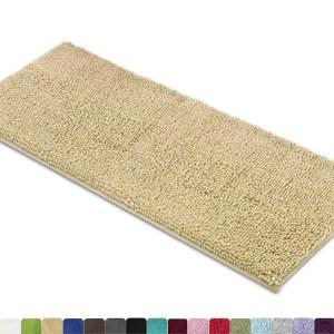 MAYSHINE - Non-Slip Bathroom Rugs Shag Shower Mat, Machine-Washable