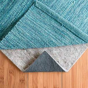 RUGPADUSA - Felt Rubber Rug Pad - Best Non Slip Rug Pad for Hard Floors