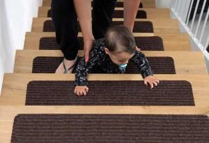 EdenProducts Non Slip Carpet Stair Treads