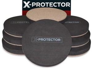 X-PROTECTOR Reusable Hardwood Floor Sliders