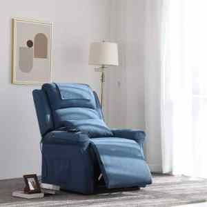 Irene House Dual Motor Lays FlatPower Lift Recliner Sofa with Side Pocket - Modern Transitional Lift Chair Recliner