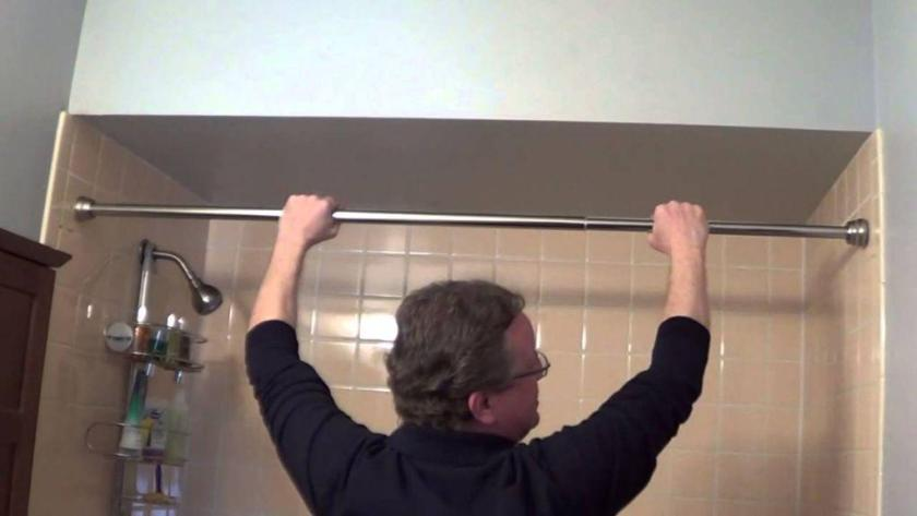 How to Fix Shower Rod from Falling Down