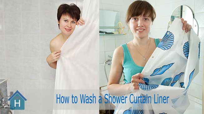How to Wash a Shower Curtain Liner