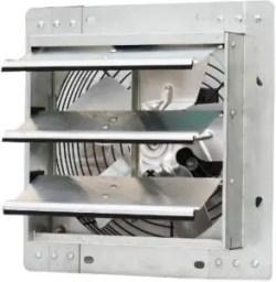 "iLiving - 10"" Wall Mounted Exhaust Fan For Home - Best Wall Kitchen Exhaust Fan"