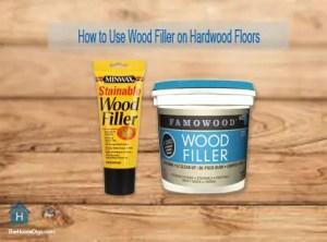 How to Use Wood Filler on Hardwood Floors