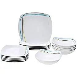best microwave safe dinner plates & bowls