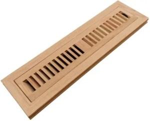 Best unfinished wood floor registers with Damper