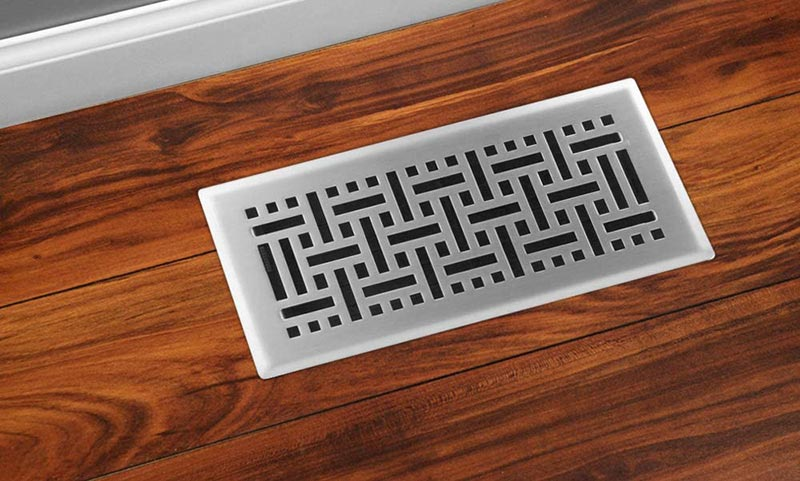 Best metal floor registers decorative