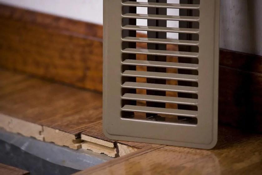 Best wood floor registers with dampers