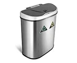 Best dual compartment sensor trash can
