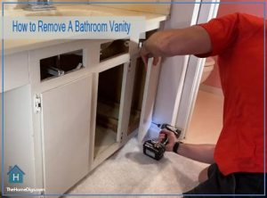 How to Remove A Bathroom Vanity from the Wall