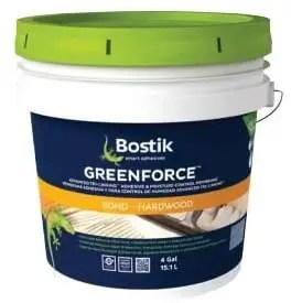 Bostik GreenForce 0 VOC Adhesive for Wood Flooring On Concrete