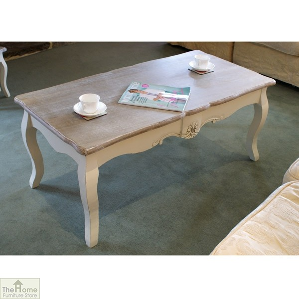 devon shabby chic coffee table the home furniture store