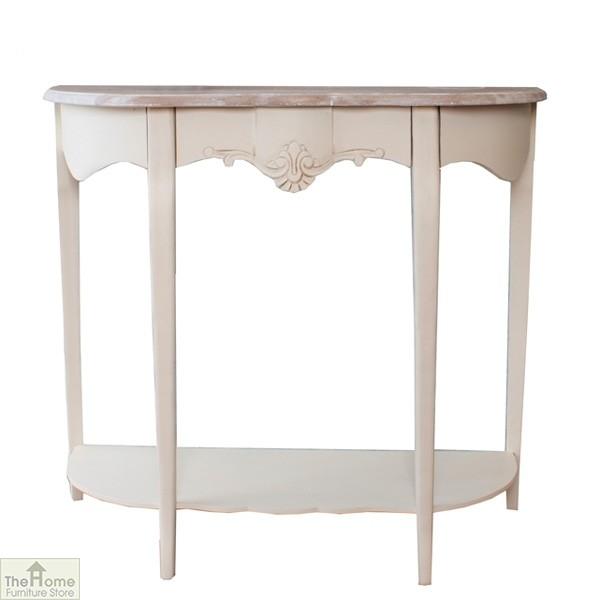 Devon Half Moon Console Table The Home Furniture Store
