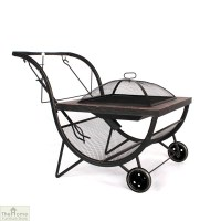 Portable Fire Pit & BBQ Rack | The Home Furniture Store