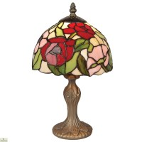 Tiffany Style Poppy Table Lamp | The Home Furniture Store