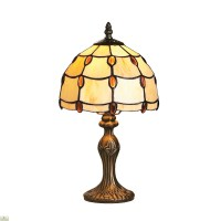 Tiffany Style Amber Jewel Table Lamp | The Home Furniture ...
