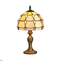 Tiffany Style Pearl Jewel Table Lamp | The Home Furniture ...