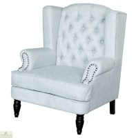 Chesterfield Style Armchair - The Home Furniture Store