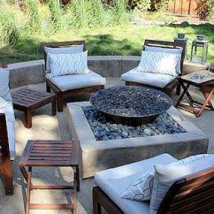 Outdoor Kitchen Patio Ideas Stove Tops 14个新鲜有趣的露台想法 激励你今夏 用火坑延长露台的使用寿命