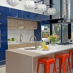 Kitchen Lights Ideas Single Handle Faucet 减轻了 灵感来自这16种新鲜吊灯的想法 请记住 你的灯具不必无聊 它们可以像你制作它们一样有趣 图片 Kabi厨房和浴柜