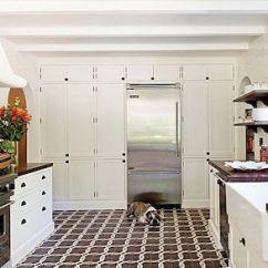 Coastal Kitchen Rugs Distressed Cabinets For Sale 厨房地板理念和材料的终极指南 瓷砖厨房地板