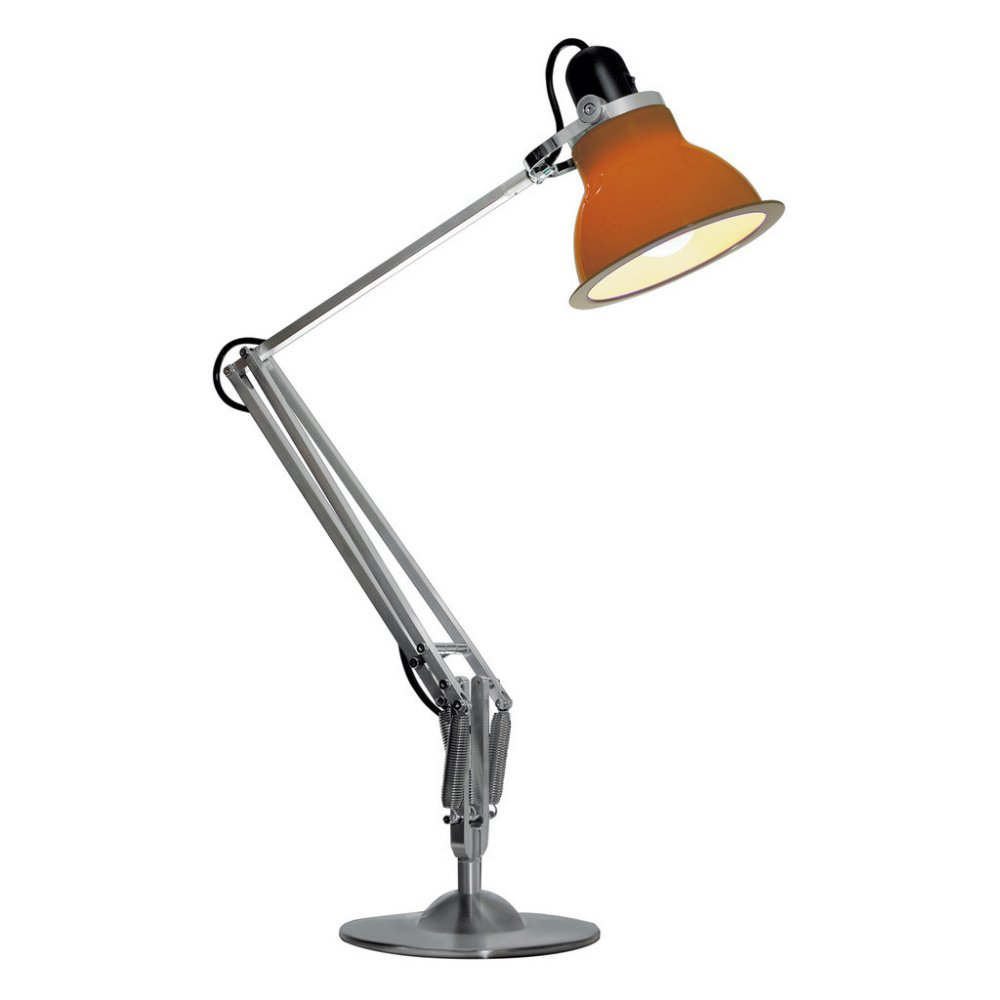 Anglepoise Type 1228 Desk Lamp in Orange