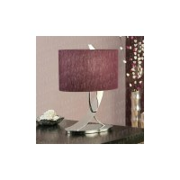 Interiors 1900 Flex Table Lamp with Purple Shade ...