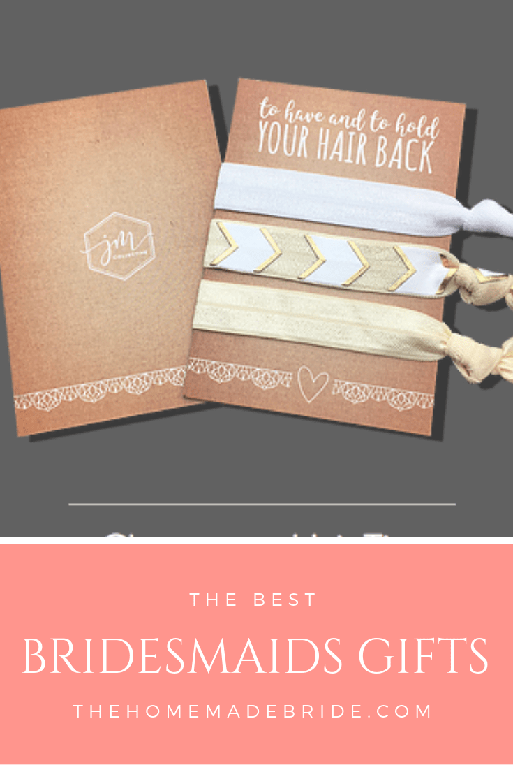 photo regarding To Have and to Hold Your Hair Back Free Printable named The Excellent Bridesmaids Presents - The Home made Bride