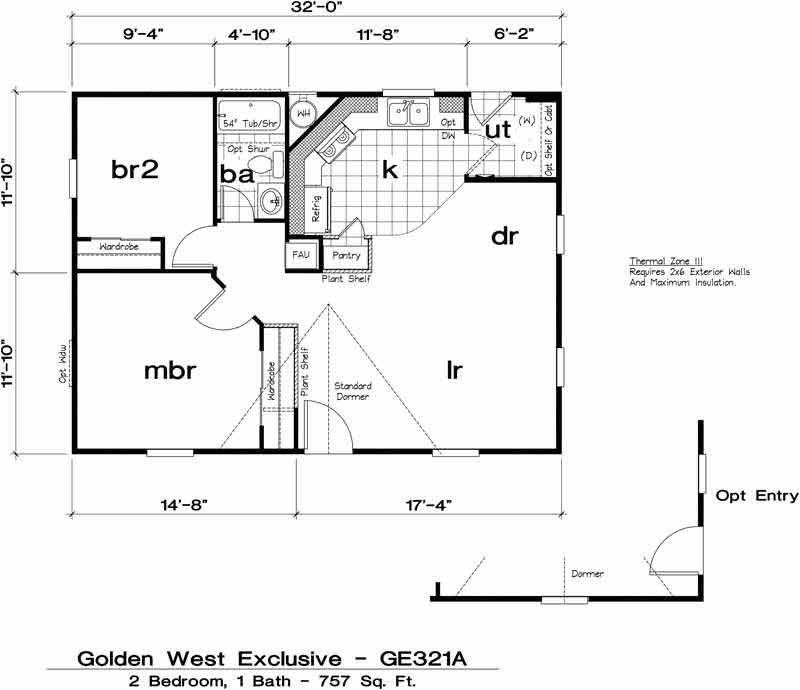 Golden Exclusive 321A 2 bed / 1 bath / 757 sqft affordable