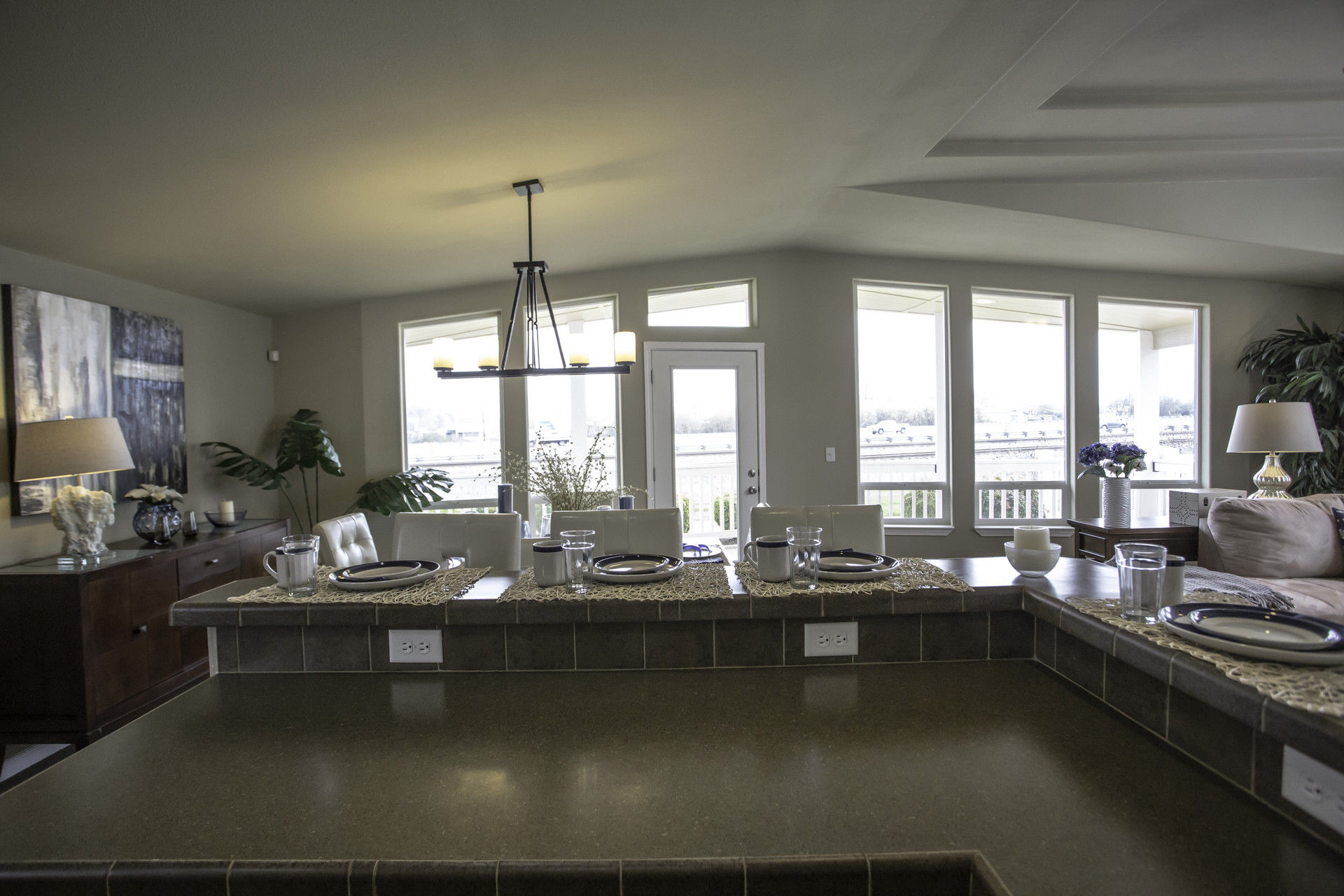 model homes kitchen pictures counter bar palm harbor (albany,or) 2 bedroom manufactured home ...