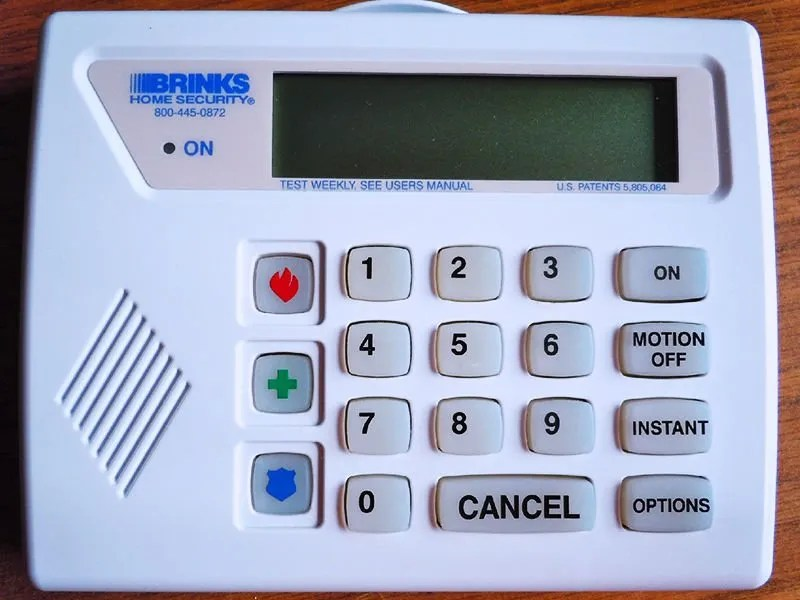 Brinks Home Security Wiring Diagram