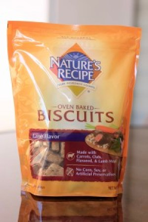 Natures Recipe Dog Biscuits
