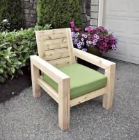 How To Make A Rustic Garden Chair   DIY Tutorials