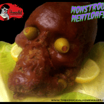 The Homicidal Homemaker shows you how to make this Monstrous Meatloaf for your next Halloween party or horror-themed event!