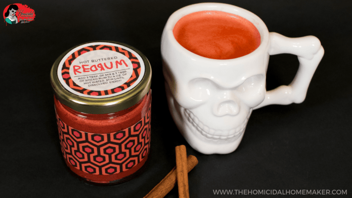 "Warm Up With Hot Buttered REDRUM Inspired by ""The Shining""!"
