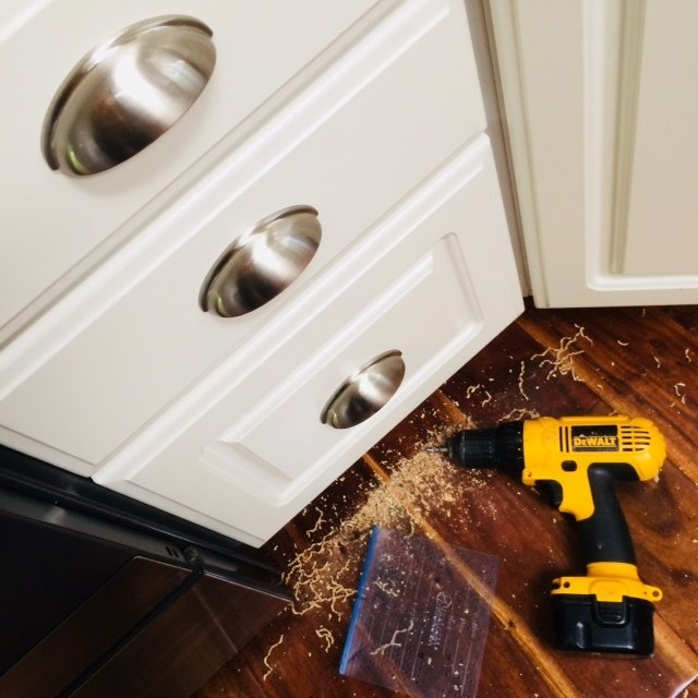 Install Kitchen Cabinet Hardware In Minneapolis The Honey Do