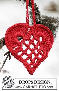 Heart Ornament from Drops Design