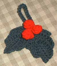 Holly and Berries from Marlo's Crochet Corner