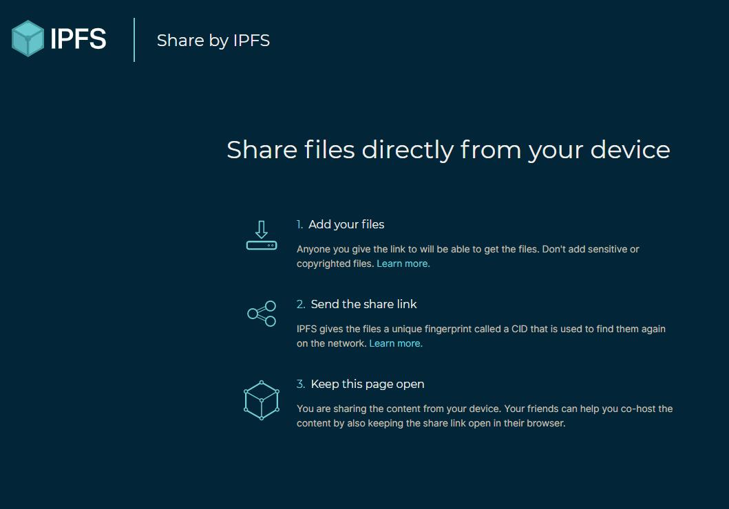 IPFS share