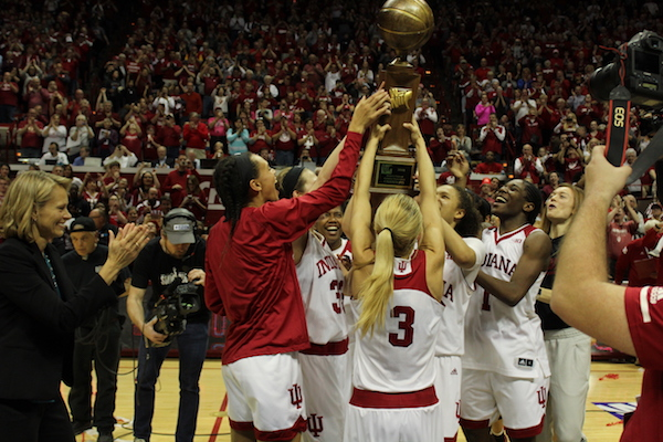 Indiana Sends Seniors Out With First WNIT Championship