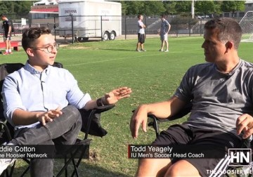 Indiana Men's Soccer Coaches Corner with Todd Yeagley #1