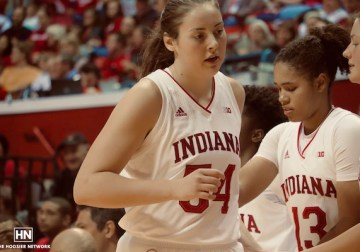 A basketball-crazy upbringing made Mackenzie Holmes a perfect fit in Bloomington