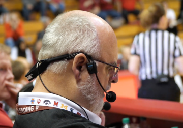 A Recognizable Voice: Indiana University P.A. Announcer Chuck Crabb